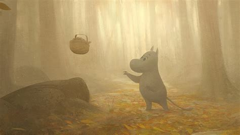 See beautiful concept art for the new Moomin animated TV