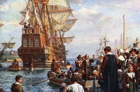 The Mayflower's Voyage and Arrival in Massachusetts