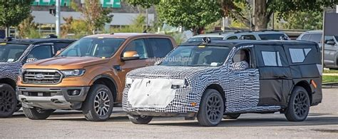 2022 Ford Maverick Pickup Truck Spied Testing With Bigger