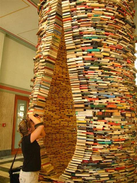 20 Cool Book Sculptures for Inspiration - Hative
