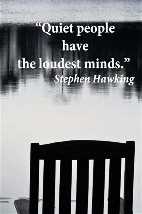 Quotes About Quiet People Listening