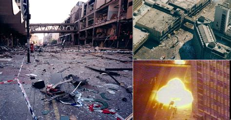 Manchester IRA bomb: Pictures show devastation caused by