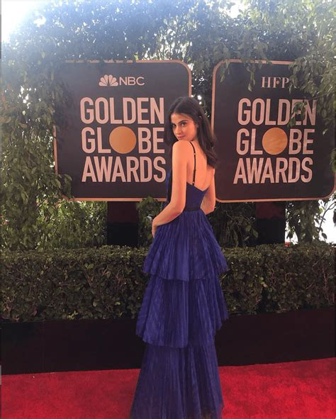 Fiji Water Girl Was The Biggest Star At The Golden Globe
