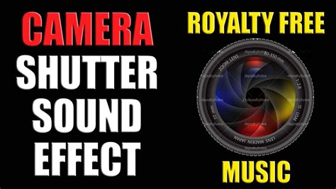 Camera Shutter Sound Effect Free Download - YouTube