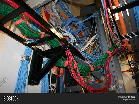 Bad Cable Management Image & Photo (Free Trial) | Bigstock