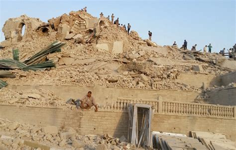 Jonah's Tomb Destroyed Completely by Mosul's New Jihadist